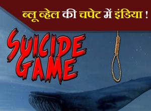 ब्लू व्हेल की चपेट में इंडिया!