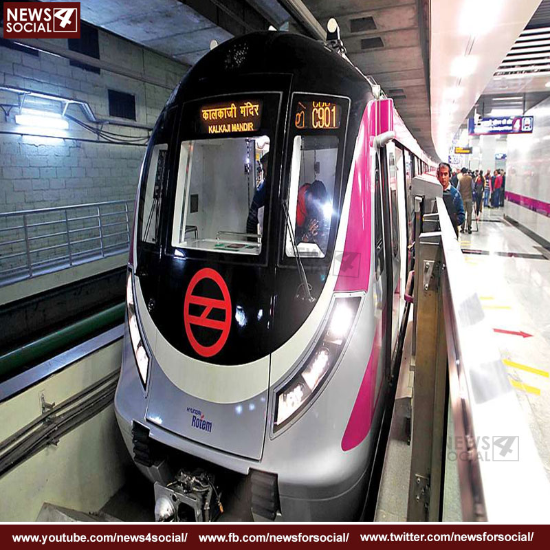 monitoring of delhi metro